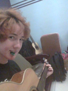 Also learning some guitar! :)