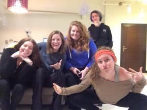 L>R: Alisha, Rachel, Andrea, Me, Front: Becca