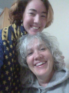 It was great to hang out with my beautiful mommy for ten days! :)