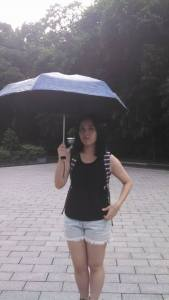 """Rain after the light (haha, Eva's Chinese name means """"Rain rose"""" :)"""