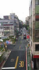 This is Not Ximen! But this can give you an idea of the typical street in a city of Taiwan.