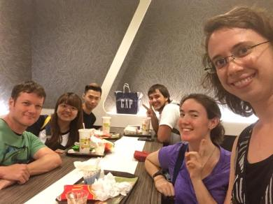worship team meeting at mcd's