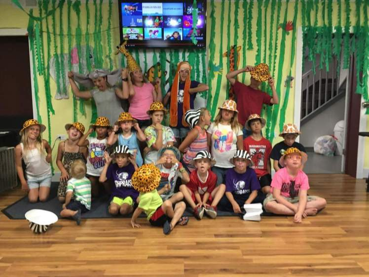 I'm guessing their VBS was Jungle themed ;)