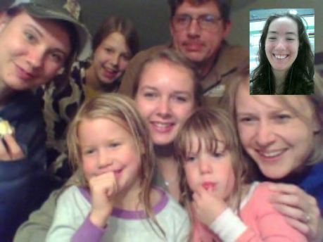 I got to video chat with this precious family from my old Timber Bay Camp days. Love and miss all those girls!
